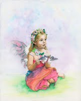 Fairy Girl in Color