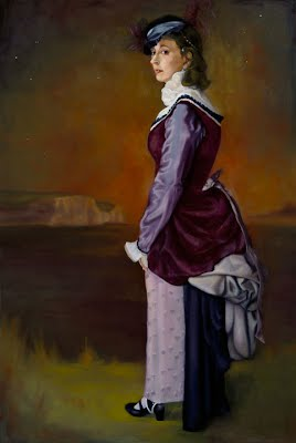 Self Portrait in Victorian Dress