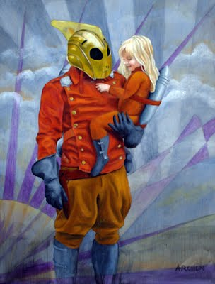 Rocketeer and Daughter