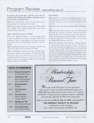 Folio review pg three