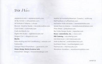 NCTE 2011 Star Wars List of Contributors